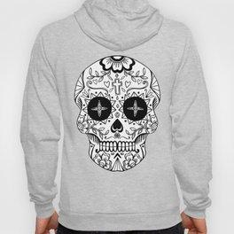 Mexican skull - cross Hoody