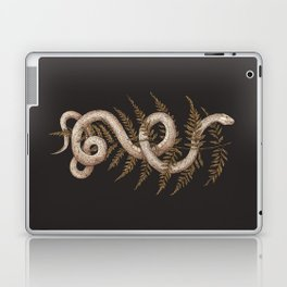 The Snake and Fern Laptop & iPad Skin
