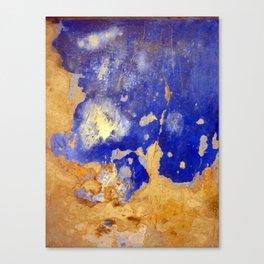 Blue Ruin Canvas Print