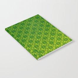 D20 Druid Ranger Crit Pattern Premium Notebook