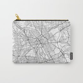 Hanover Map White Carry-All Pouch
