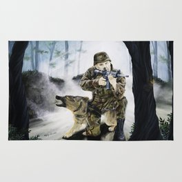 Armor of God Rug