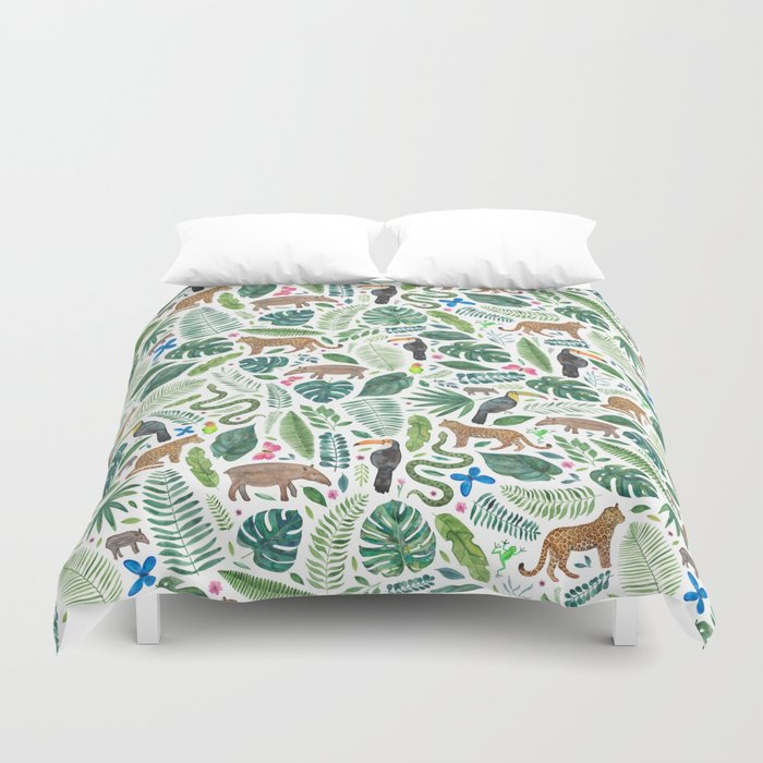 product psychedelic duvet and home tropical twill covers design sets pineapple dianoche