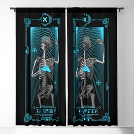 The Gamer X Tarot Card Blackout Curtain
