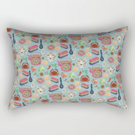 Peranakan tea party Rectangular Pillow