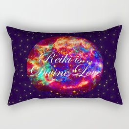 Reiki is Divine Love | The Energy it Flows | Going with the Flow Rectangular Pillow