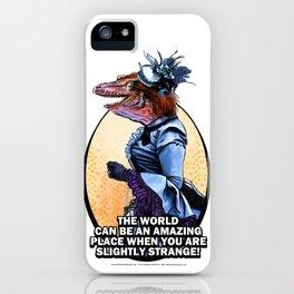 SLIGHTLY STRANGE iPhone Case