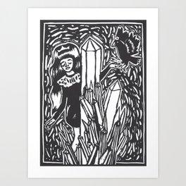 Castles Art Print