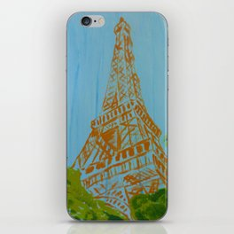 La Tour Eiffel in the Spring iPhone Skin