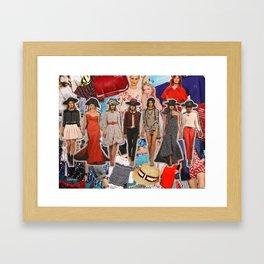 Oscar de la Renta, Resort 2012 Framed Art Print