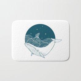 Whale dream Bath Mat