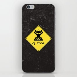 DJ Zone Rave Quote iPhone Skin