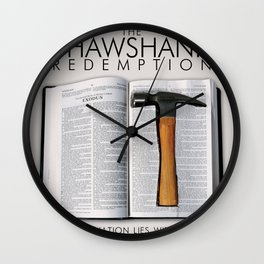 the shawshank redemption Wall Clock