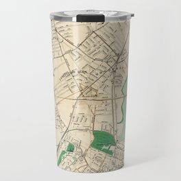 Vintage Map of Portland ME (1906) Travel Mug