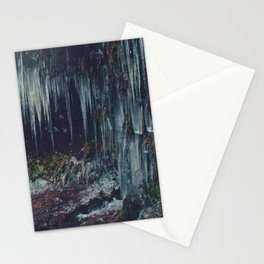 Ice Spikes Stationery Cards