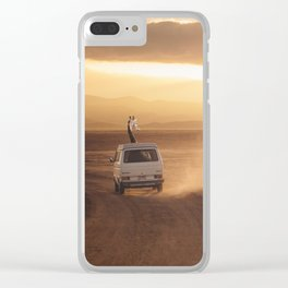 ADVENTURE IS CALLING Clear iPhone Case