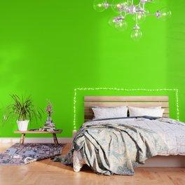 Bright Fluorescent  Green Neon Wallpaper