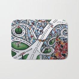 roads Bath Mat