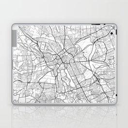 Hanover Map White Laptop & iPad Skin