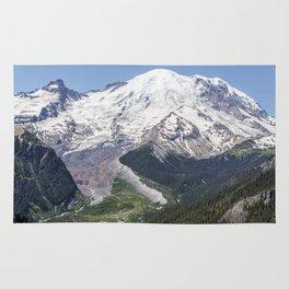 Mount Rainier on the Sunrise Side Rug