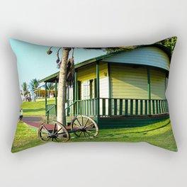 Old Jibaros house in Arecibo Rectangular Pillow