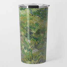 Long Grass with Butterflies Travel Mug