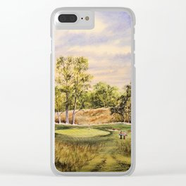 Merion Golf Course 17th Hole Clear iPhone Case