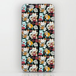Super Lucky Pattern in Black iPhone Skin