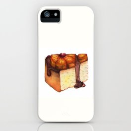 Pineapple Upside-Down Cake Slice iPhone Case