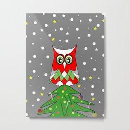 Tree Top Owl Metal Print