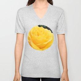 My Yellow Rose Unisex V-Neck