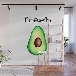 Fresh Avocado fr e sh a voca do Wall Mural