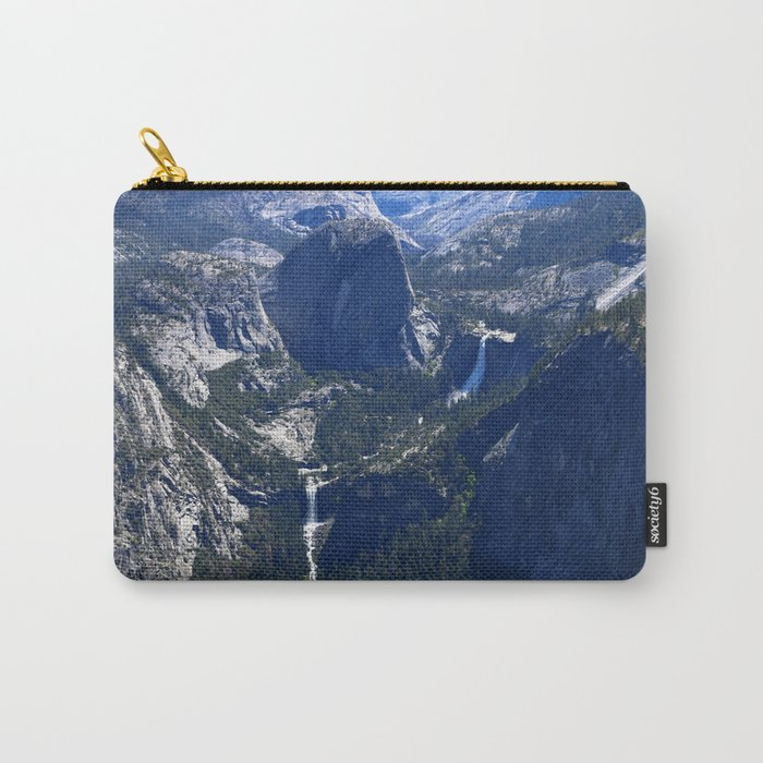 Vernal Falls And Nevada Falls Carry-All Pouch
