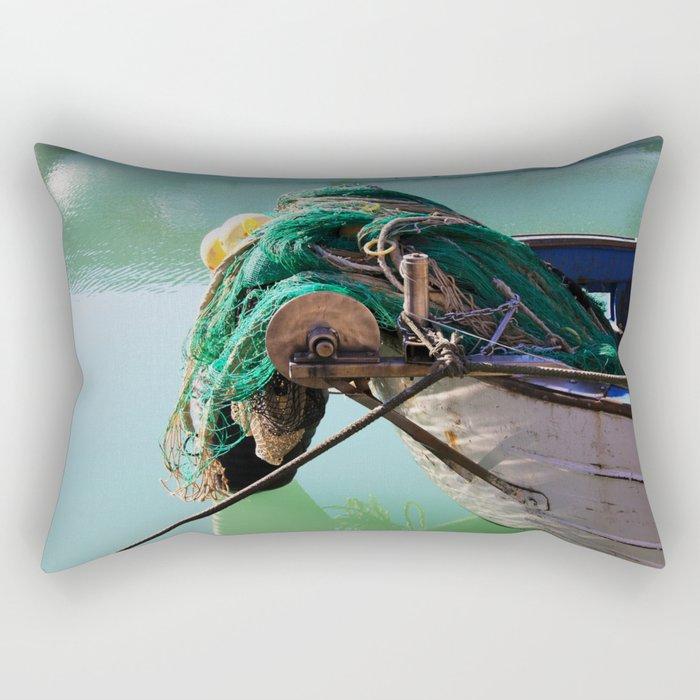 Fishing boat Rectangular Pillow