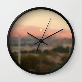 Newhall Overlook Wall Clock