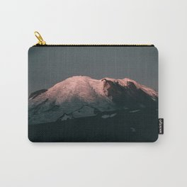 First Light on Mount Rainier Carry-All Pouch