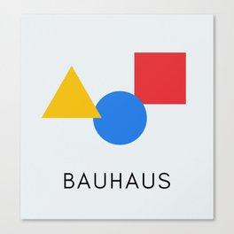 Bauhaus - Geometric Art Canvas Print