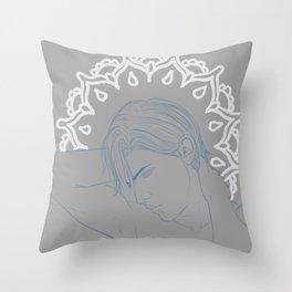 Strict Claude Throw Pillow