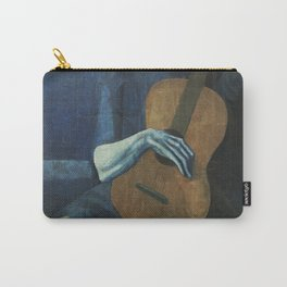 The Old Guitarist Carry-All Pouch