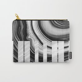 Marbled Music Art - Piano Keys - Sharon Cummings Carry-All Pouch