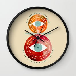 Eye of the Universe Wall Clock