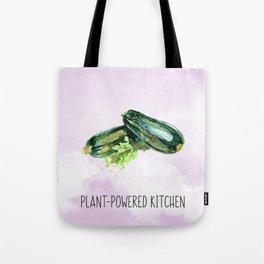 Plant-Powered Kitchen Zucchini Tote Bag