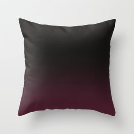 Faded Burgundy Throw Pillow