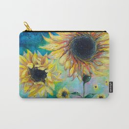 Supermassive Sunflowers Carry-All Pouch