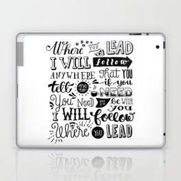 Where You Lead | Gilmore Girls Laptop & iPad Skin
