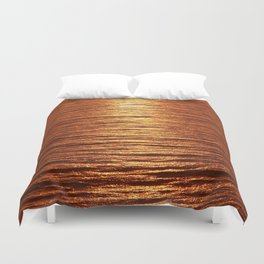 copper sea Duvet Cover