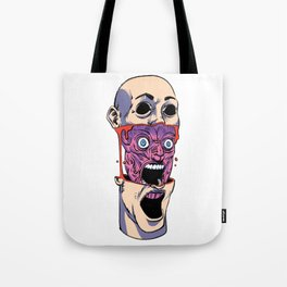 Opened Up Tote Bag