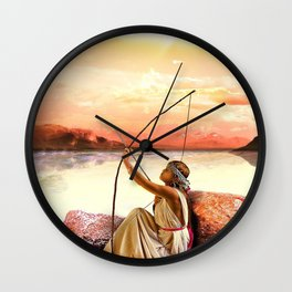 Aim At It Wall Clock