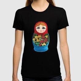 Matryoshka Polygon Art T-shirt