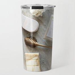 Spa Art Marble Background Travel Mug